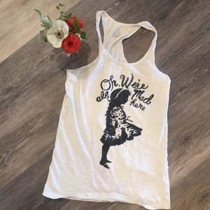 Vintage Urban Outfitters Alice in Wonderland tank